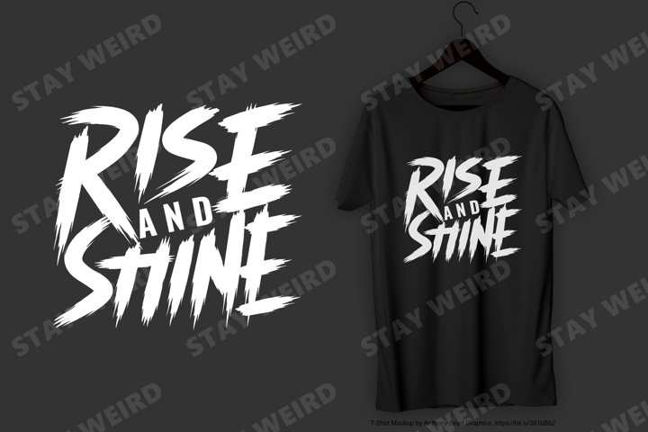 Rise and Shine T-Shirt Design