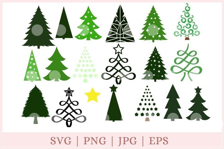 Christmas Tree svg, Christmas Tree cut file,