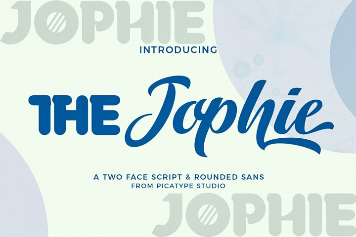 The Jophie | Font Combination