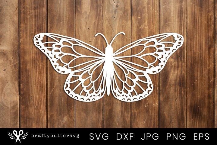 Butterfly Paper Cut Design | Butterfly Svg Cut FIle