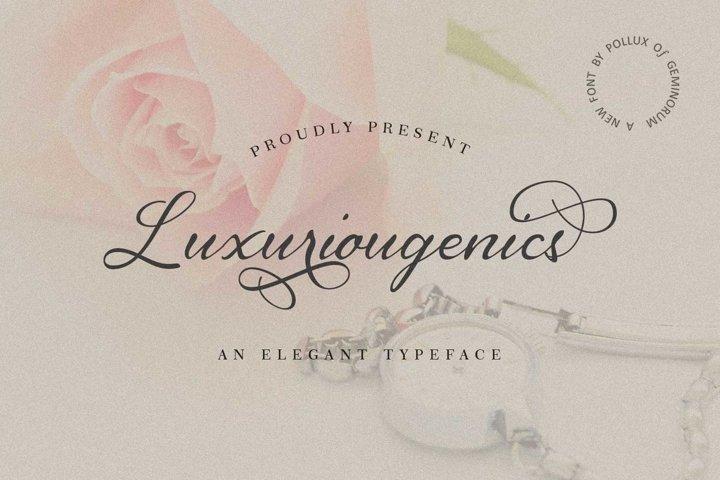 Luxuriougenics