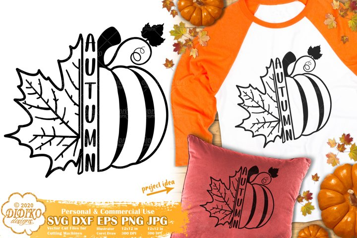 Fall SVG | Pumpkin SVG | Fall Leaves SVG | Autumn SVG