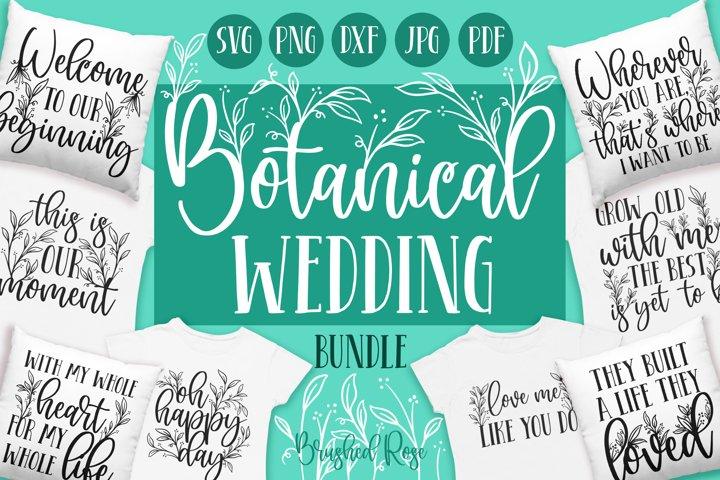 Botanical Wedding designs bundle | Wedding svg