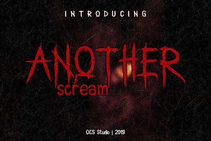 Another Scream