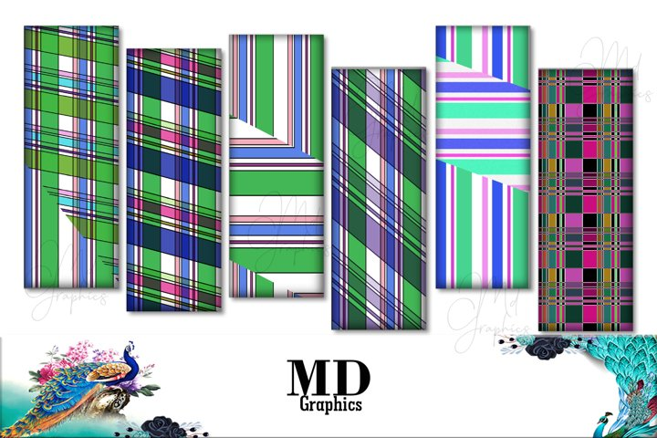 Colorful Papers, Colorful Stripes, Digital STRIPES papers