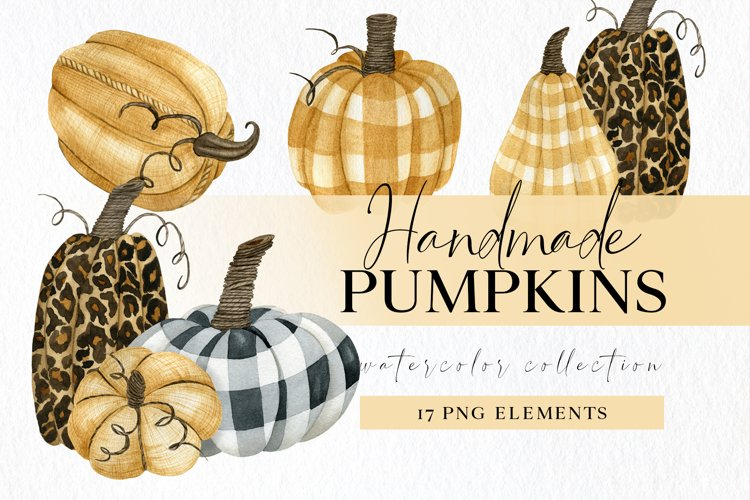 Plaid fall pumpkin clipart, leopard pumpkin png clip art