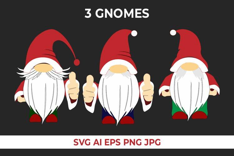 Gnomes Christmas SVG
