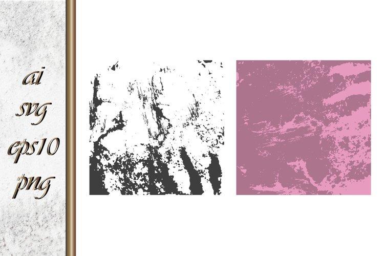 Ink brush strokes shape Grunge background example image 1