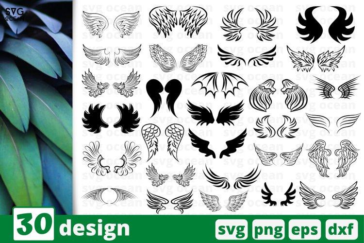 Wings SVG Bundle | wings svg | wings cricut | angel svg