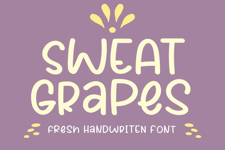 Sweat Grapes example image 1