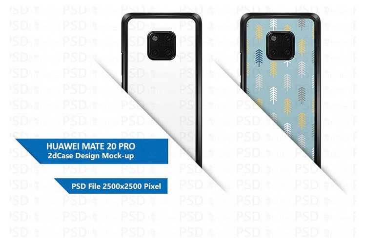 Huawei Mate 20 Pro 2d Case Design Mock-up example image 1