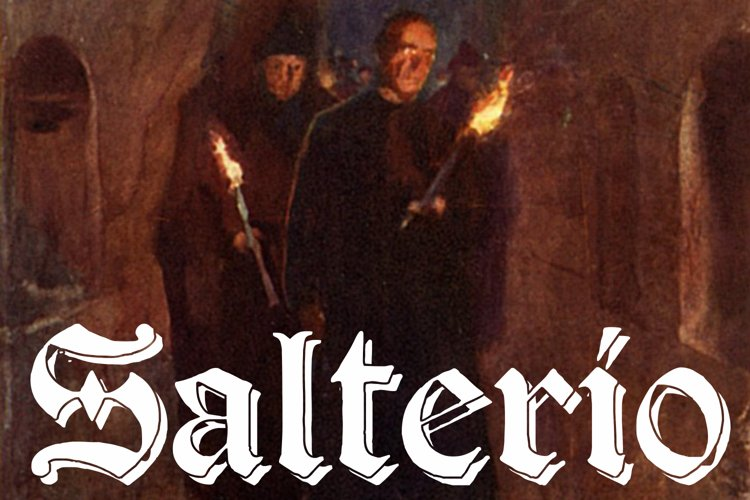 Salterio (six pack fonts) example image 1