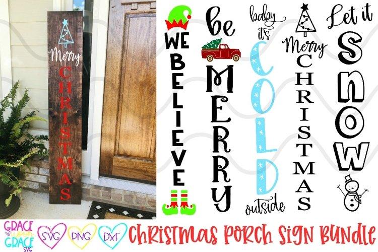 Christmas Porch Sign Leaner Bundle