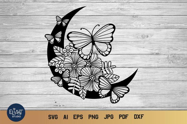 Butterfly SVG   Moon SVG   Summer SVG