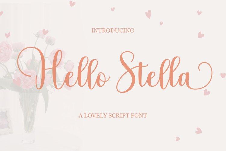 Hello Stella example image 1