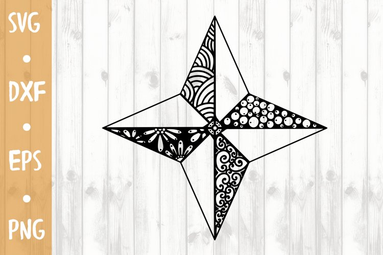 Star SVG CUT FILE example