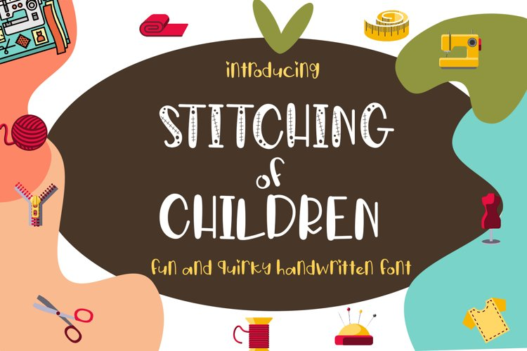 Stitching of Children example image 1