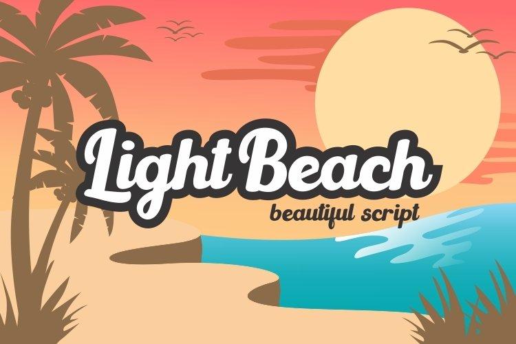 Light Beach example image 1