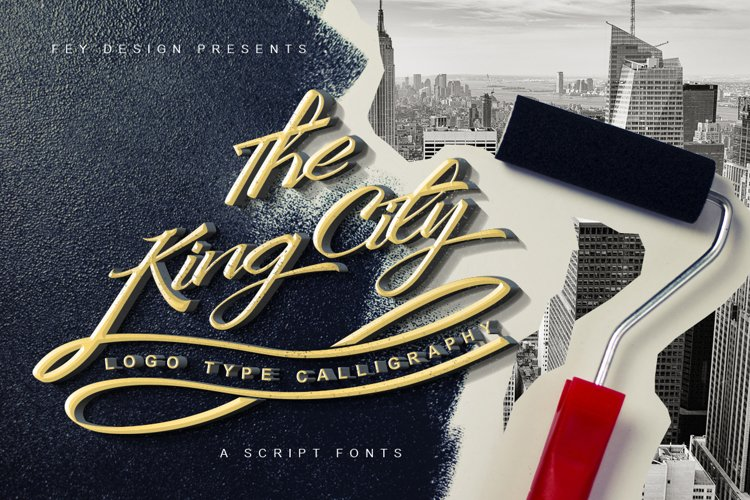 King City - Logo Type Calligraphy