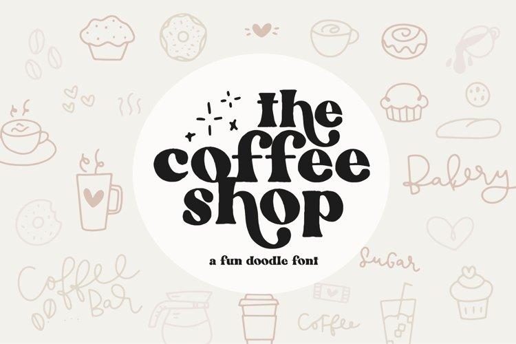 Coffee Shop Doodles - Dingbat Font example image 1