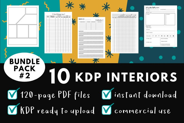 KDP Interior Pack #2 - 10 Templates! example image 1