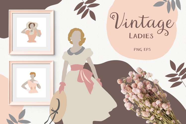 Vintage Woman Portraits Collection - Ladies - Fashion example image 1