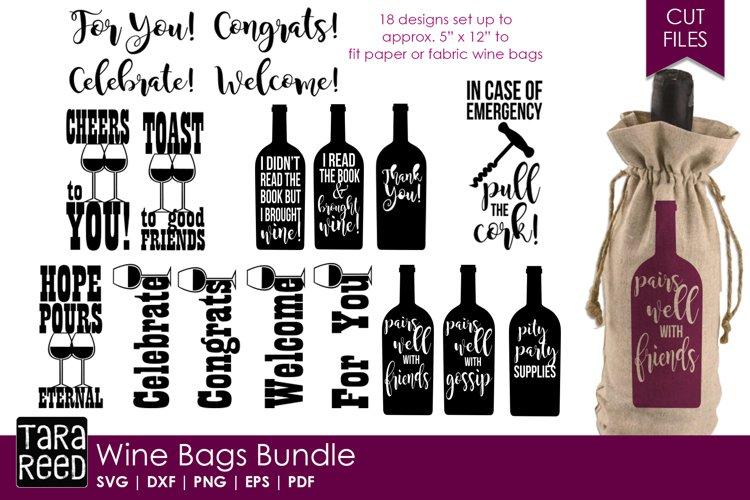 Wine Bag svg bundle example image 1