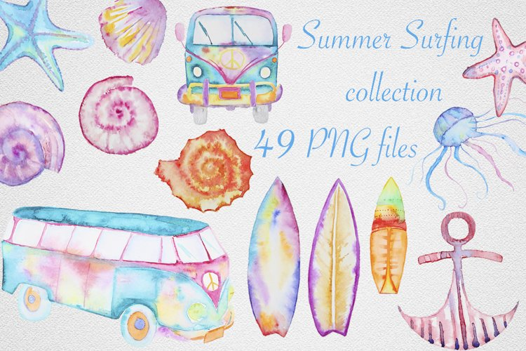 Summer surfing collection