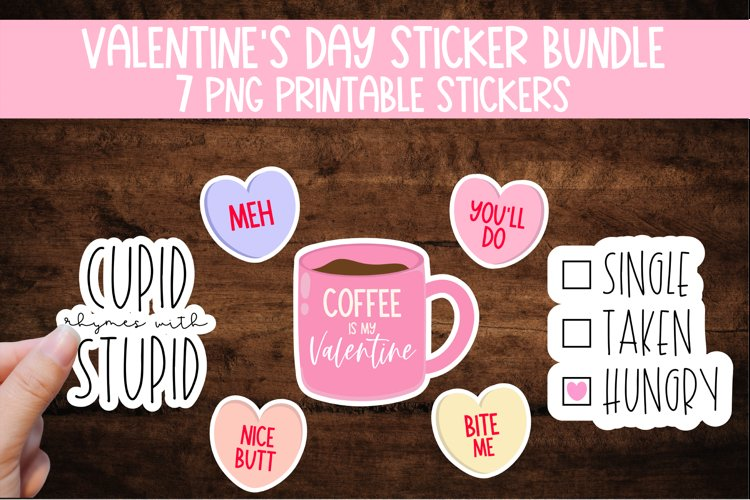 Valentine's Day Sticker Bundle example image 1