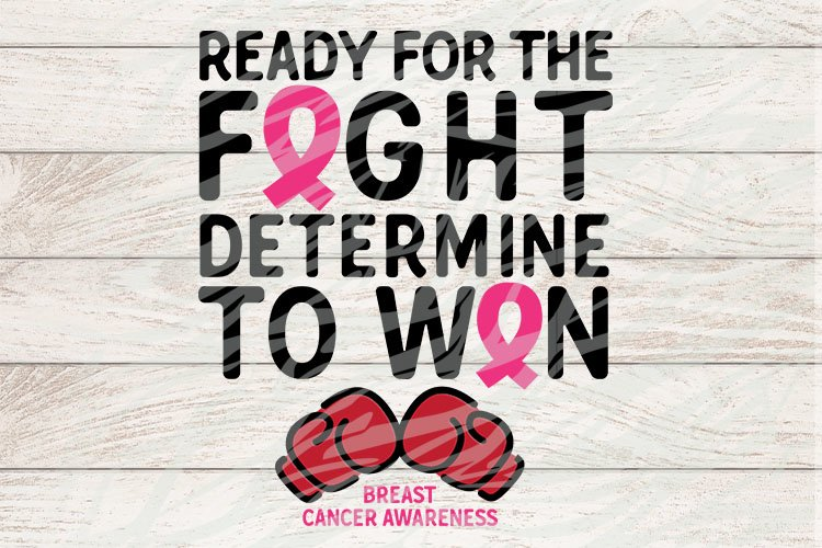 Ready for the fight Breast Cancer Awareness example image 1