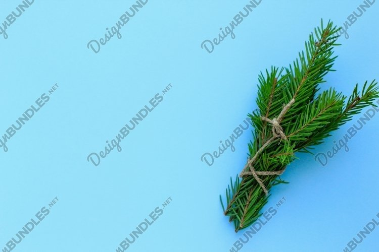 Christmas, new year minimal background, concept. example image 1