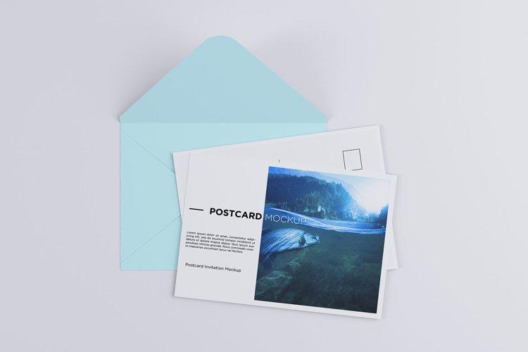 Postcard Invitation Mock-up 7x5 example image 1