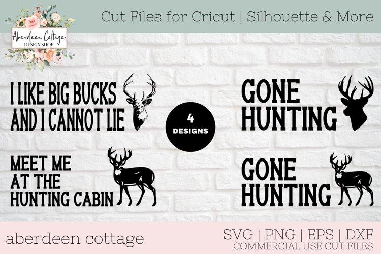 Deer Hunters Mini Sign Bundle - Deer Hunting T-Shirt & Sign example image 1