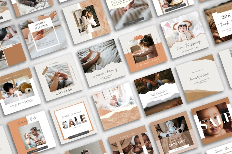 25 Instagram Templates made in Canva | Small Shop Owner
