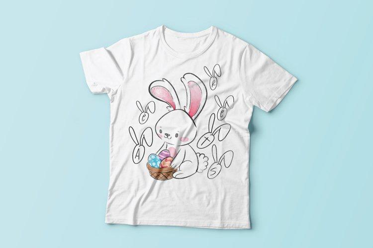 bunny decorative font example image 1