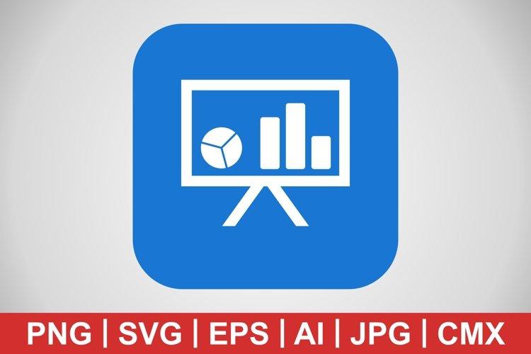 Vector Presentation Icon example image 1