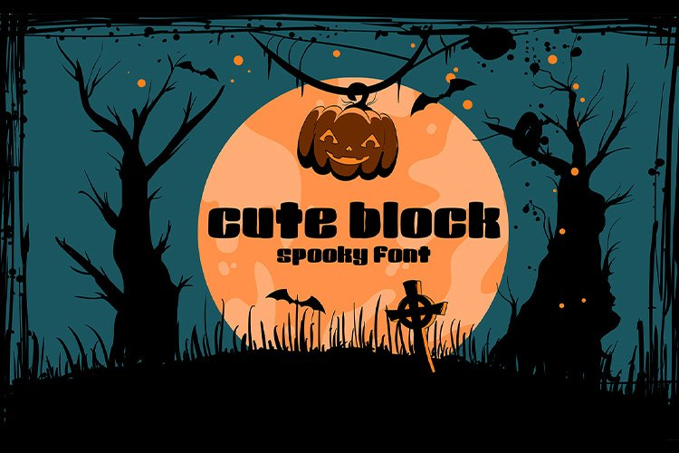 Cute Block | spooky and cute example image 1