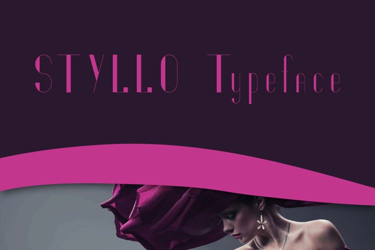 Styllo Display Typeface example image 1
