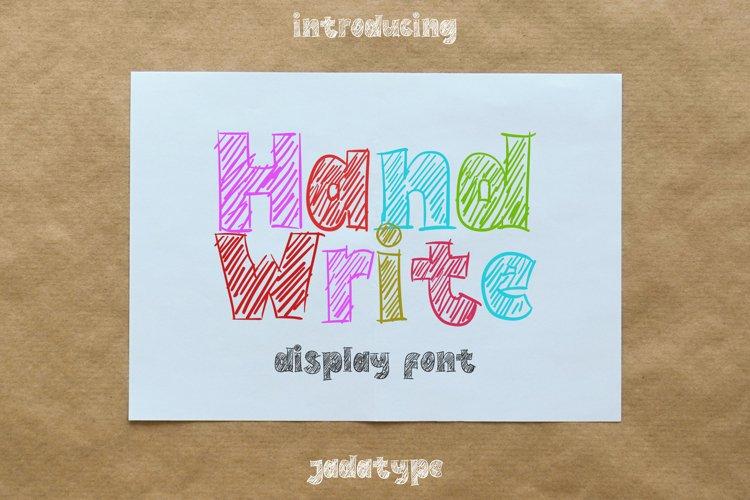 Hand Write example image 1
