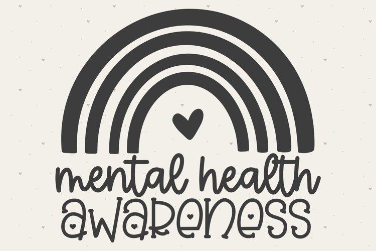 Mental Health Awareness SVG FILE