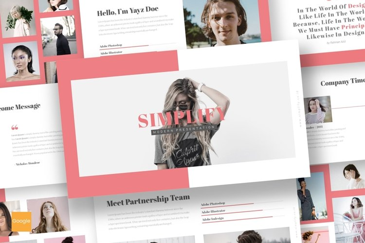 Simplify - Google Slides Template example image 1