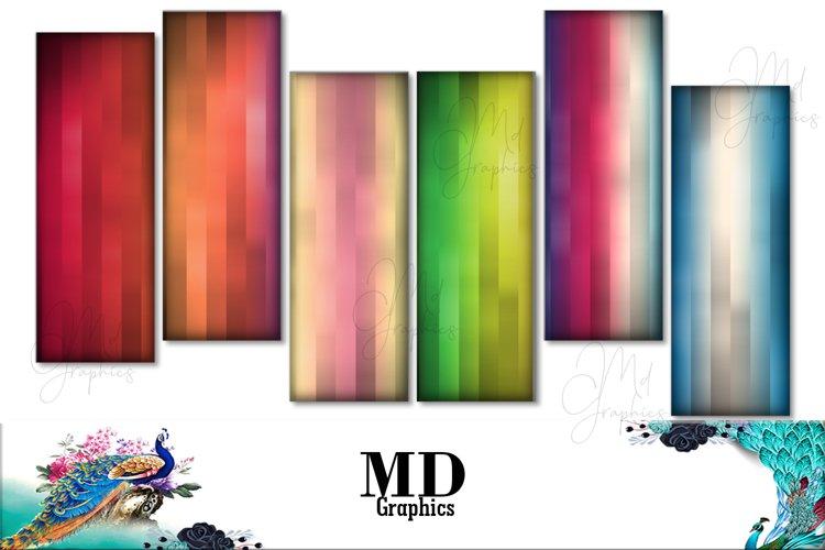 Rainbow colors, Rainbow printable, Rainbow Digital Bookmark example image 1