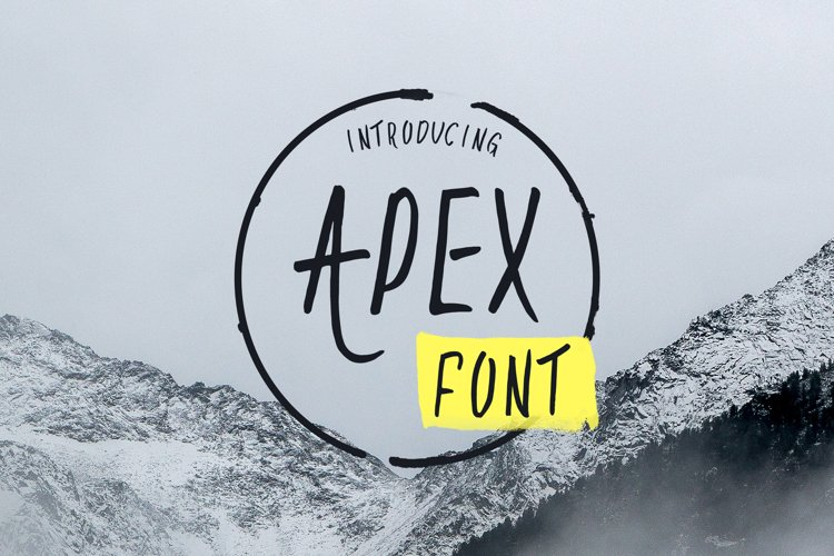 Apex Font example image 1