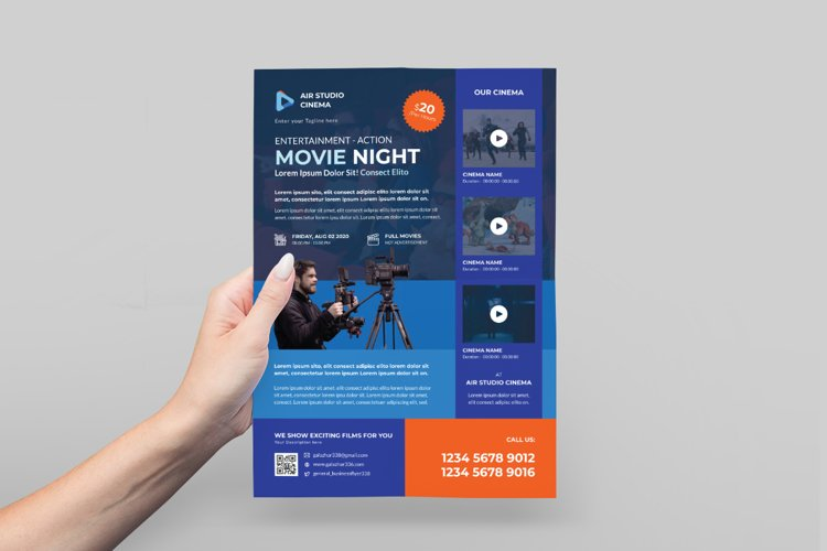 Cinema Flyer Design example image 1