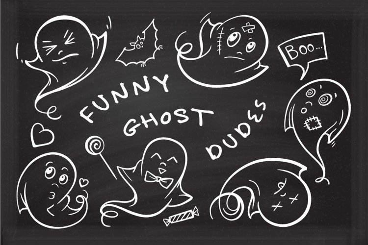 Funny ghost dudes example image 1