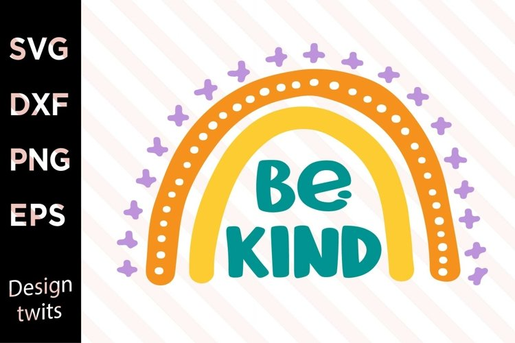 Be Kind SVG example image 1