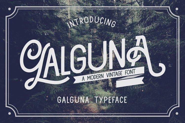 Galguna - Vintage Script Font example image 1