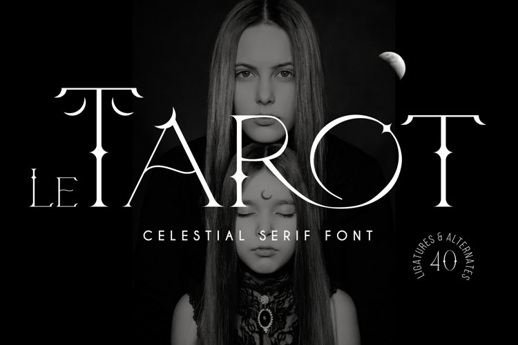 Le Tarot - Celestial Serif Font example image 1