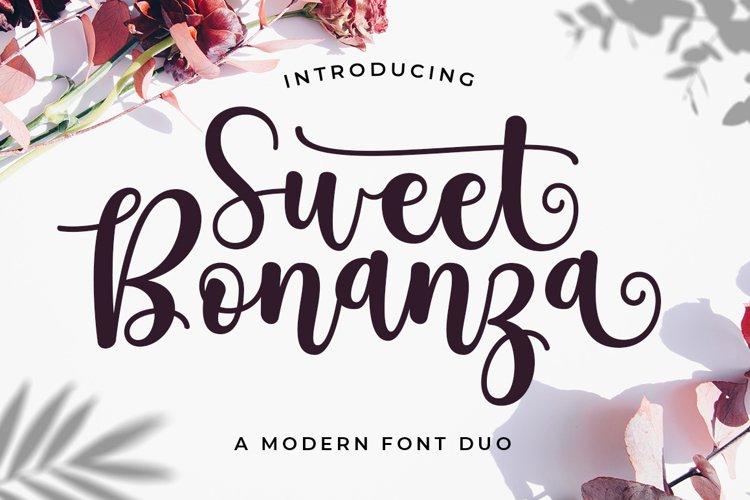 Sweet Bonanza Font Duo example image 1