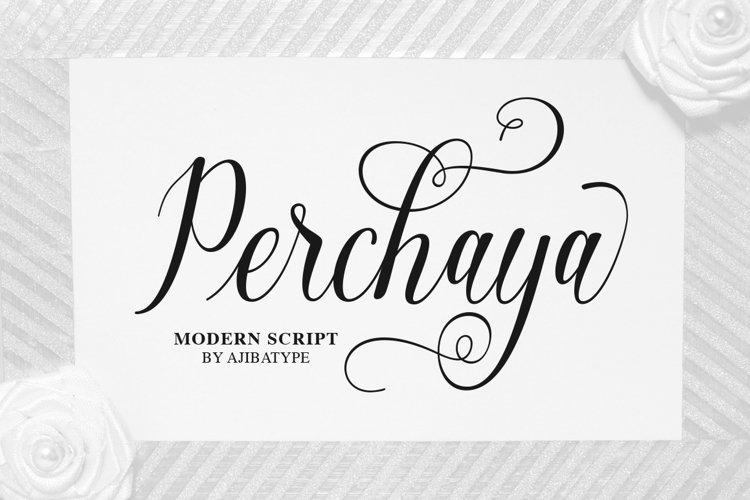 Perchaya Script example image 1